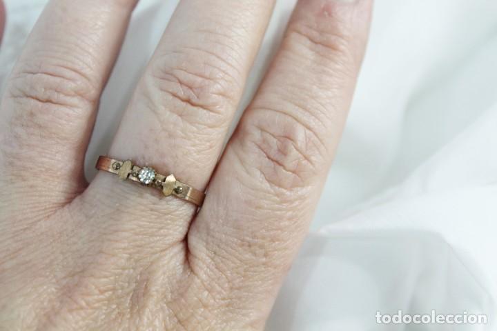 Joyeria: Anillo 1900 antiguo remanente de joyería piezas con contraste oro bajo o chapado - Foto 3 - 151357018
