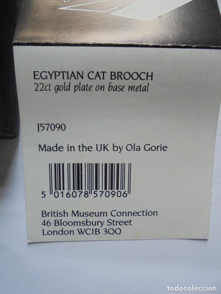 Joyeria: Gato Egypto Broche 22ct baño oro. British Museum Connection - Foto 3 - 151542910