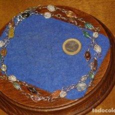 Joyeria: COLLAR LARGO DE PIEZAS DE CUARZO.. Lote 151629026
