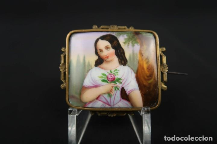 Joyeria: Antiguo Broche Frances o Aleman Finales siglo XIX - Foto 2 - 152165074