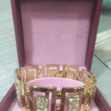 Joyeria - Elegante pulsera Gold Filled en oro de14k con brillantes - 152380066