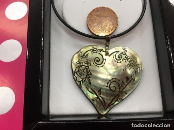 Joyeria: Gargantilla de plata colgante de nácar - Foto 3 - 152461094