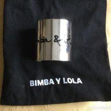 Joyeria: BRAZALETE METAL PLATEADO BIMBA Y LOLA. Lote 152554846