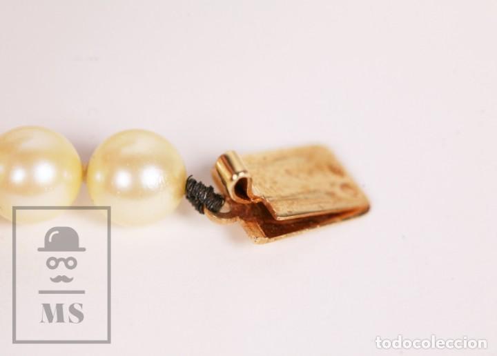 Joyeria: Precioso Collar de Perlas Cultivadas con Cierre de Oro y Cuentas de Coral Rojo - Longitud 64 cm - Foto 14 - 153193802