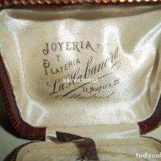 Joyeria: JOYERIA Y PLATERIA LA HABANERA.CALLE MONTERA 31.MADRID.CAJA. CIRCA 1908. Lote 153361794