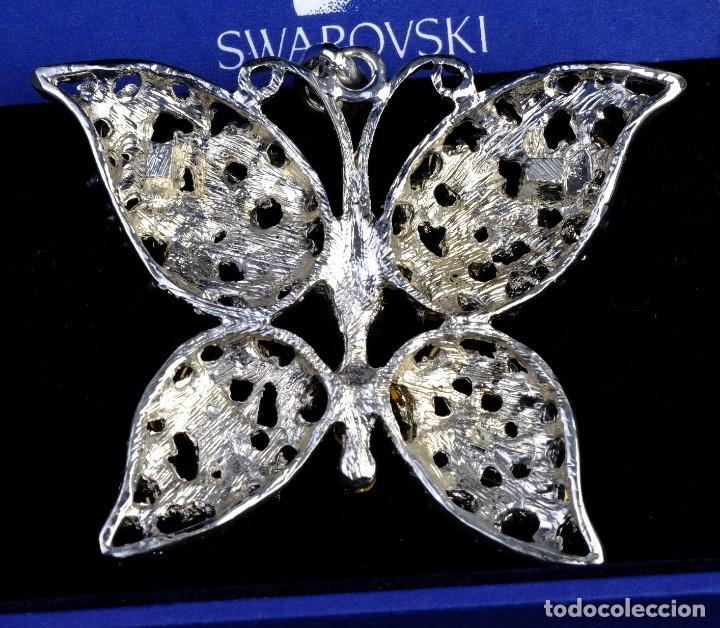 Joyeria: Broche en cristal de Swarovski con forma de mariposa - Foto 2 - 154183678