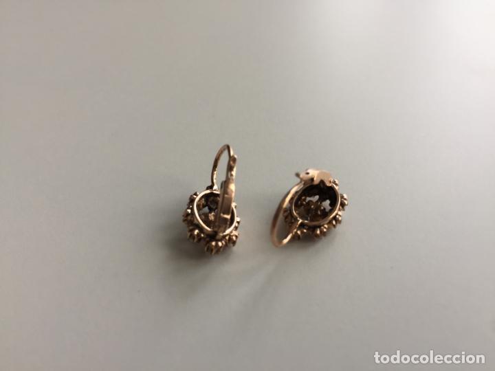 Joyeria: antiguos pendientes de oro de 14 quilates con perlas - Foto 8 - 154769410