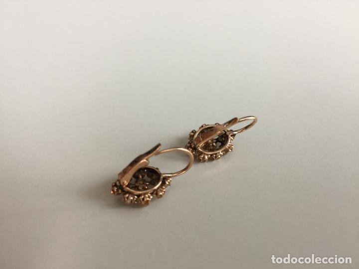 Joyeria: antiguos pendientes de oro de 14 quilates con perlas - Foto 9 - 154769410