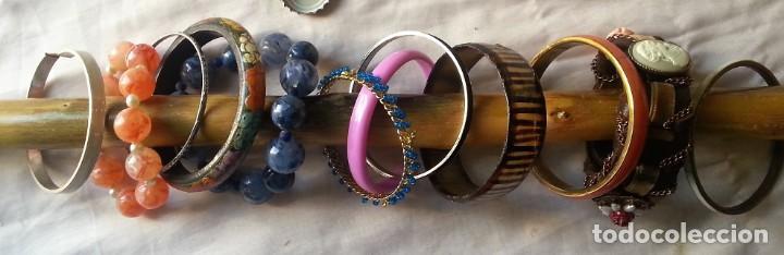 Joyeria: Bisutería vintage. Lote de 12 pulseras - Foto 2 - 154820670