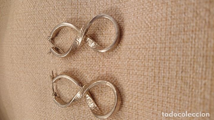 3a2a4dc74833 Joyeria  Preciosos pendientes símbolo infinito en plata de ley - Foto 3 -  155012166