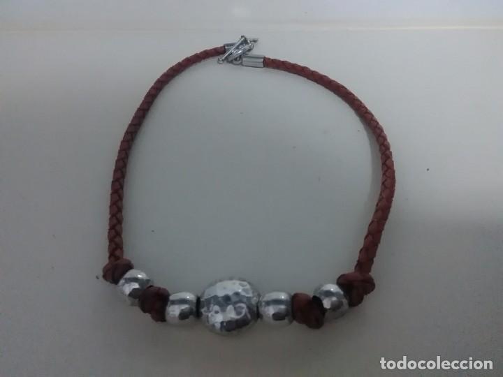 COLLAR PLATA 925 (Joyería - Collares Antiguos)