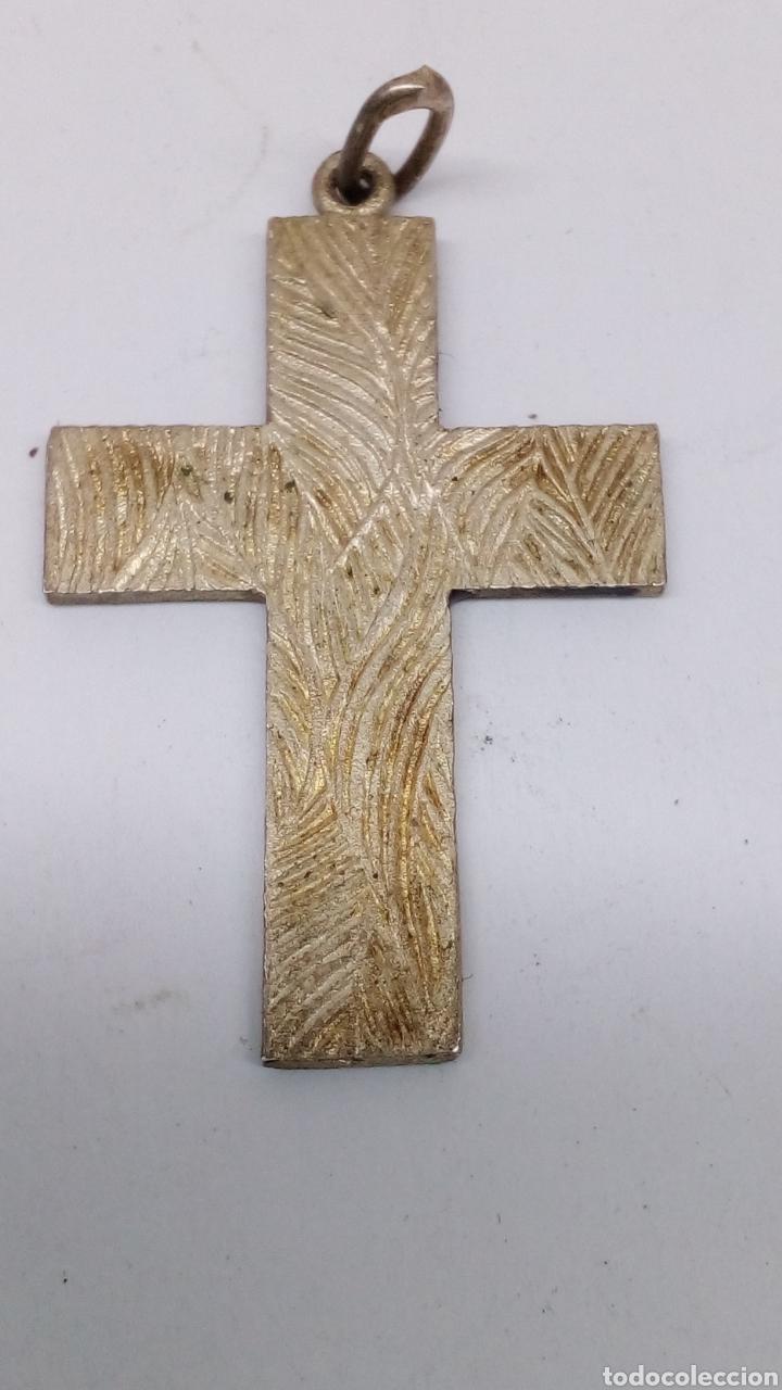 Joyeria: Cruz plata colgante con esmalte - Foto 2 - 155360809