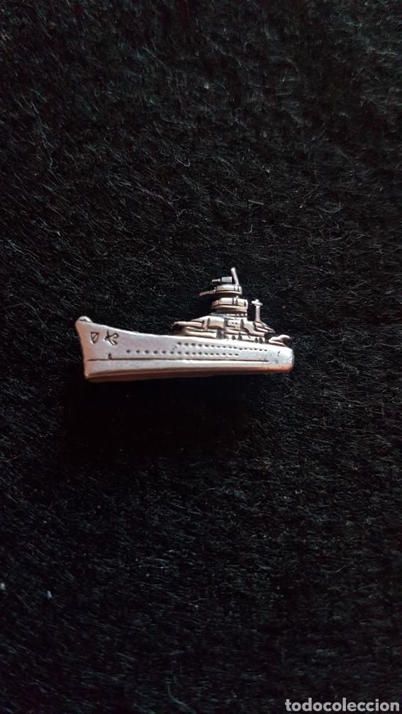 Joyeria: Broche de plata en forma de barco. - Foto 2 - 155437770