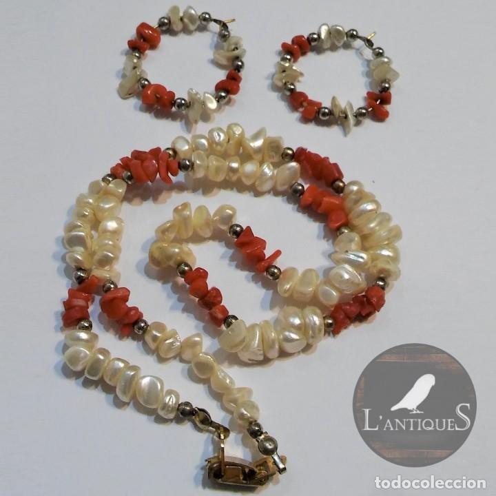 5d18d60403ec conjunto collar y pendientes