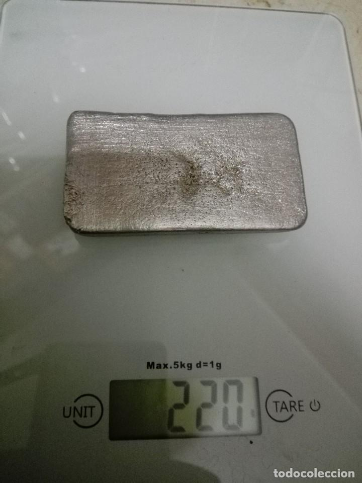 Joyeria: Lingote de Estaño 220 gramos puro - Foto 2 - 156365450