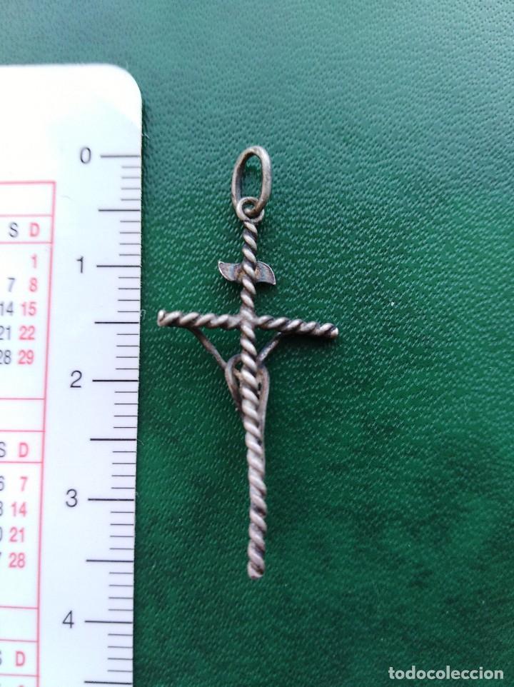 Joyeria: Colgante Cruz de plata - Foto 2 - 156975886