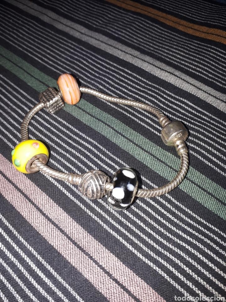 Joyeria: Pulseras de plata de ley estilo Pandora - Foto 2 - 157147288