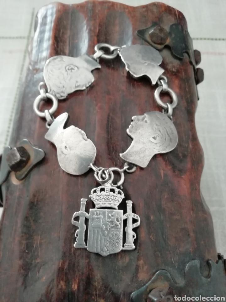 731e0eae8c15 Pulsera plata - España - Pulsera o brazalete de plata