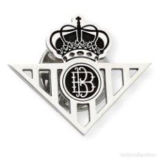 Joyeria: REAL BETIS BALOMPIÉ PIN DE PLATA DE LEY 925 BROCHE. Lote 158389898