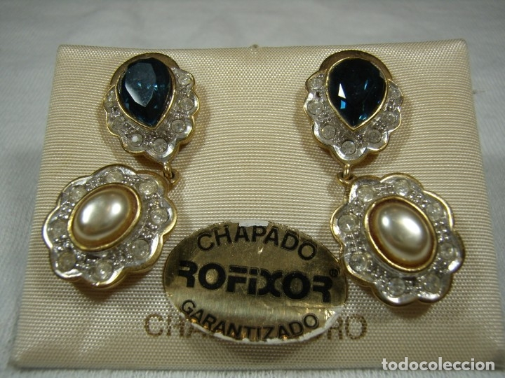 0eaf88e466e5 5 fotos PENDIENTES CHAPADO ORO DE ROFIXOR