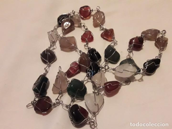 Joyeria: Precioso collar piedras semi preciosas naturales años 60/70 - Foto 3 - 158880390