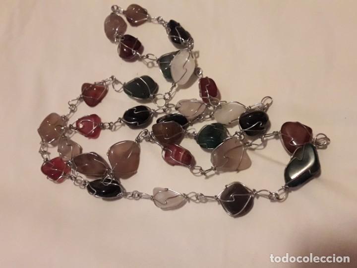 Joyeria: Precioso collar piedras semi preciosas naturales años 60/70 - Foto 4 - 158880390