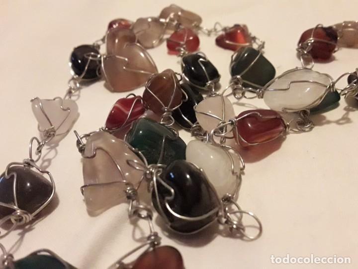 Joyeria: Precioso collar piedras semi preciosas naturales años 60/70 - Foto 5 - 158880390