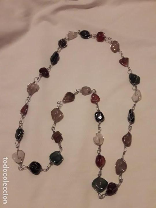 Joyeria: Precioso collar piedras semi preciosas naturales años 60/70 - Foto 2 - 158880390