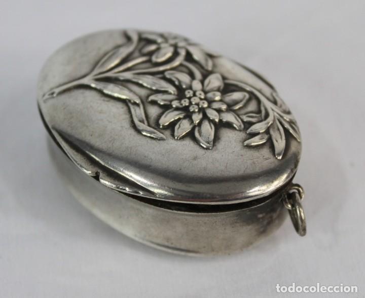Joyeria: Guardapelo de plata colgante secreter plata 800 fines s XIX Art Nouveau - Foto 3 - 159017814