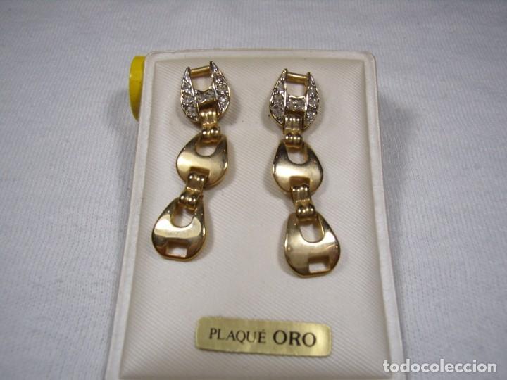 c36a739818d2 pendientes chapado oro