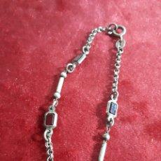Jewelry - Pulsera de plata de ley con piedras rojas naturales - 159299825