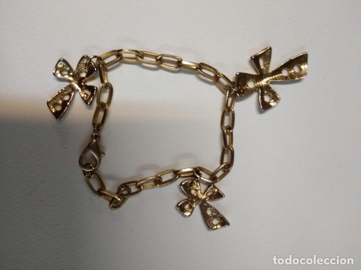 Joyeria: Pulsera dorada con tres cruces - Foto 4 - 159499118