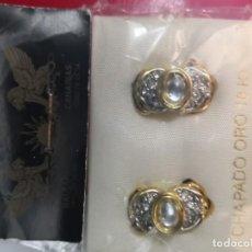 Schmuck - Pendientes vintage chapado oro años 80 - 159634790