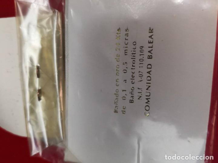 Joyeria: Broche vintage chapado oro años 80 - Foto 2 - 159635150