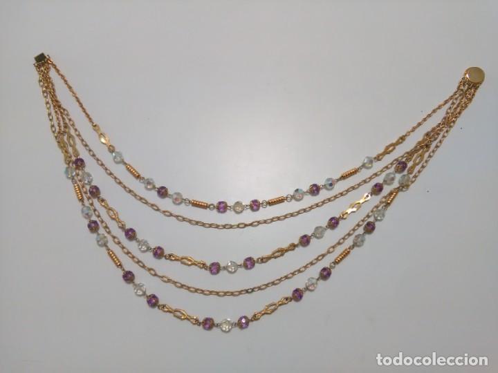 Joyeria: Collar cristal de roca facetado, 5 vueltas - Foto 3 - 159753470