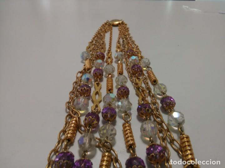 Joyeria: Collar cristal de roca facetado, 5 vueltas - Foto 5 - 159753470