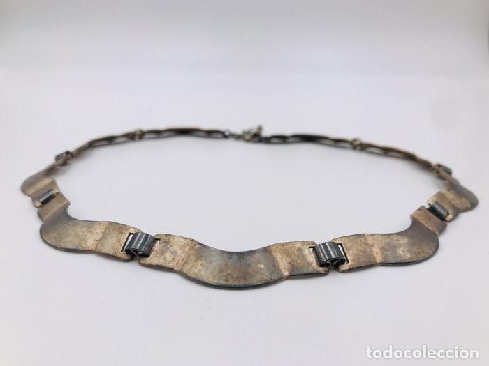 Joyeria: Collar vintage en plata maciza .835 - Foto 3 - 160289230