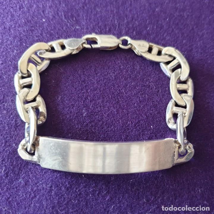 8010c72948f0 antigua pulsera de plata maciza. peso 27 gr. 19 - Comprar Pulseras ...