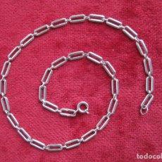Joyeria: CADENA DE PLATA DE LEY DE 40,5 X 0,5. - SIN USAR - PESA 13,2 GR.. Lote 160839942
