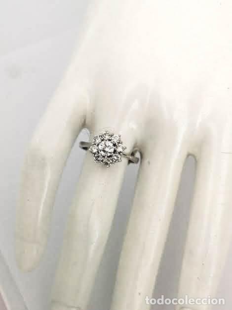 Joyeria: Anillo Vintage Oro 18k y Diamantes - Foto 8 - 141234526