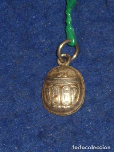 Joyeria: COLGANTE DE PLATA ESCARABAJO EGIPCIO. - Foto 2 - 161568814