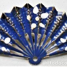 Joyeria: ANTIGUO BROCHE/PIN ABANICO. Lote 161790402