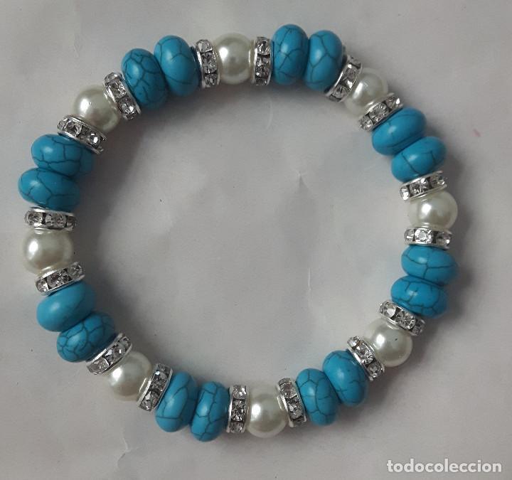 4ee472aa12a8 pulsera bolas azules - Comprar Pulseras Antiguas en todocoleccion ...