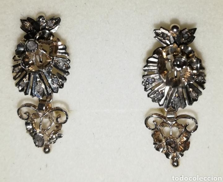 f3d10b0fdbe2 isabelinos diamantes oro.. pendientes antiguos - Comprar Pendientes ...