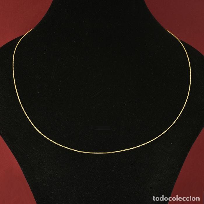 Joyeria: Cadena de oro amarillo de 18 quilates - 50 cm. Peso 2.12 g - Foto 2 - 162692482