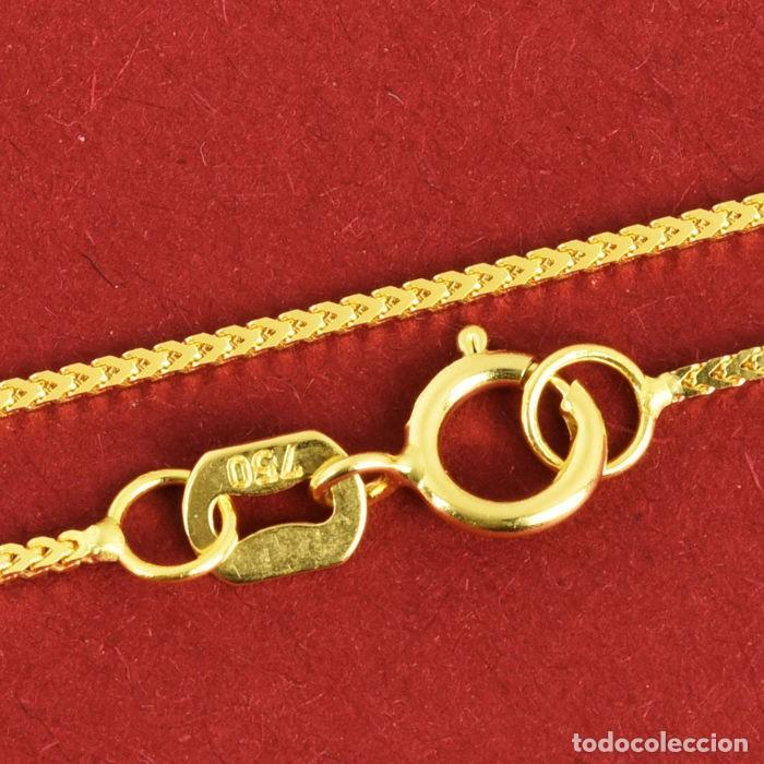 Joyeria: Cadena de oro amarillo de 18 quilates - 50 cm. Peso 2.12 g - Foto 5 - 162692482