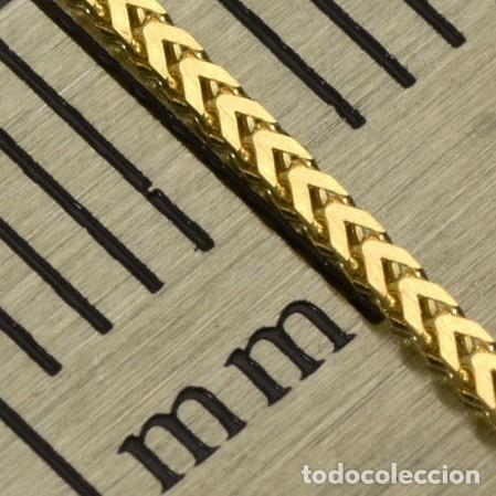 Joyeria: Cadena de oro amarillo de 18 quilates - 50 cm. Peso 2.12 g - Foto 6 - 162692482