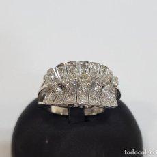 Joyeria - Anillo de platino y diamantes - 162757354