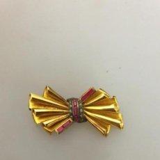 Jewelry - BROCHE EN ORO 19.2K 800/1000 MARCADO CON CONTRASTE DIAMANTES Y RUBI - 162764270
