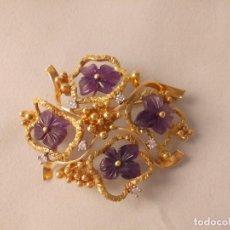 Jewelry - BROCHE CON BRILLANTES ORO 18 KT - 162776874